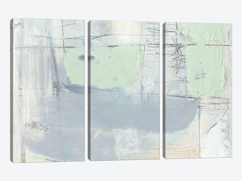 Pastels In Wax III by Jennifer Goldberger 3-piece Art Print