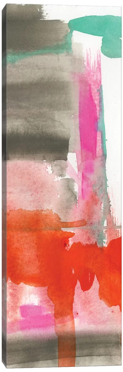 Red, Pink & Grey II Canvas Print #JGO228