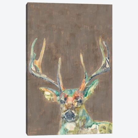 Rustic Wildlife I Canvas Print #JGO231} by Jennifer Goldberger Canvas Artwork
