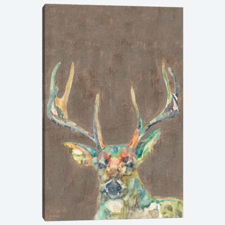 Rustic Wildlife I Canvas Print #JGO231} by Jennifer Goldberger Canvas Artwork