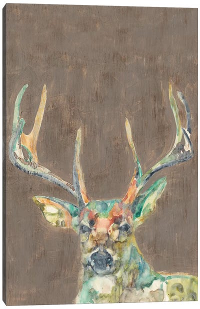 Rustic Wildlife I Canvas Print #JGO231