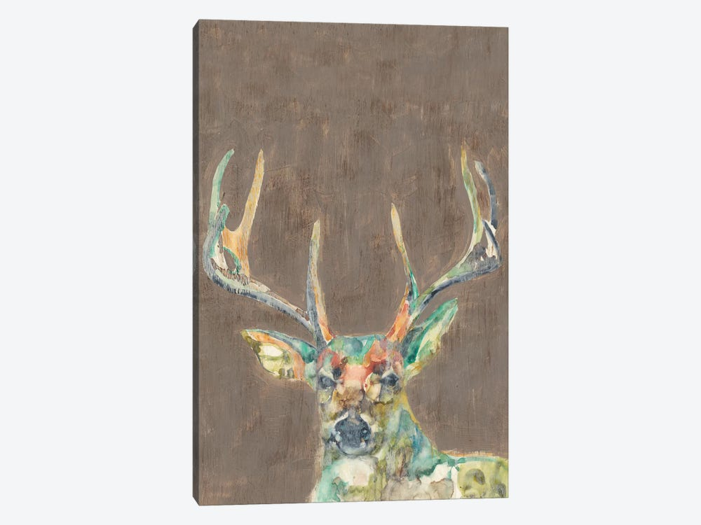 Rustic Wildlife I by Jennifer Goldberger 1-piece Canvas Art Print