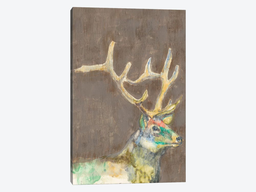 Rustic Wildlife II by Jennifer Goldberger 1-piece Canvas Art
