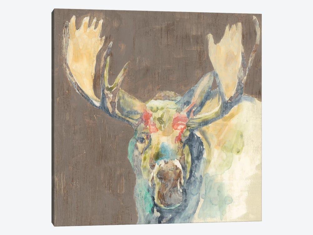 Rustic Wildlife III by Jennifer Goldberger 1-piece Canvas Print