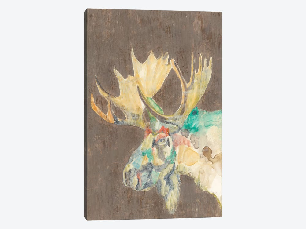 Rustic Wildlife IV 1-piece Canvas Art