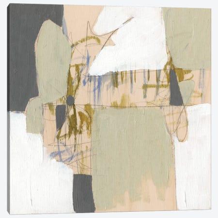 Warm Neutrals I Canvas Print #JGO239} by Jennifer Goldberger Canvas Art
