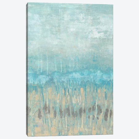 Coastline Abstraction I Canvas Print #JGO23} by Jennifer Goldberger Canvas Art
