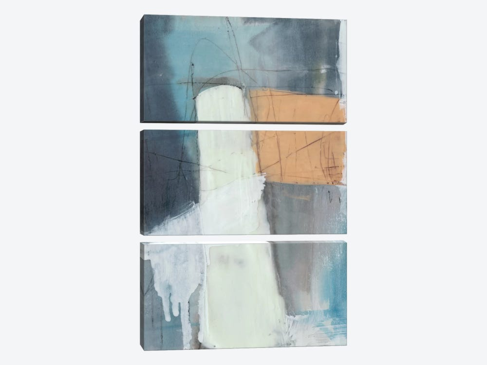 Wax Falls II by Jennifer Goldberger 3-piece Canvas Print
