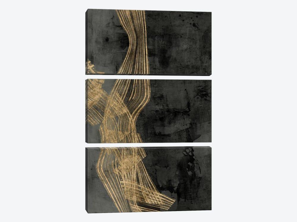 Woven Matrix II by Jennifer Goldberger 3-piece Art Print
