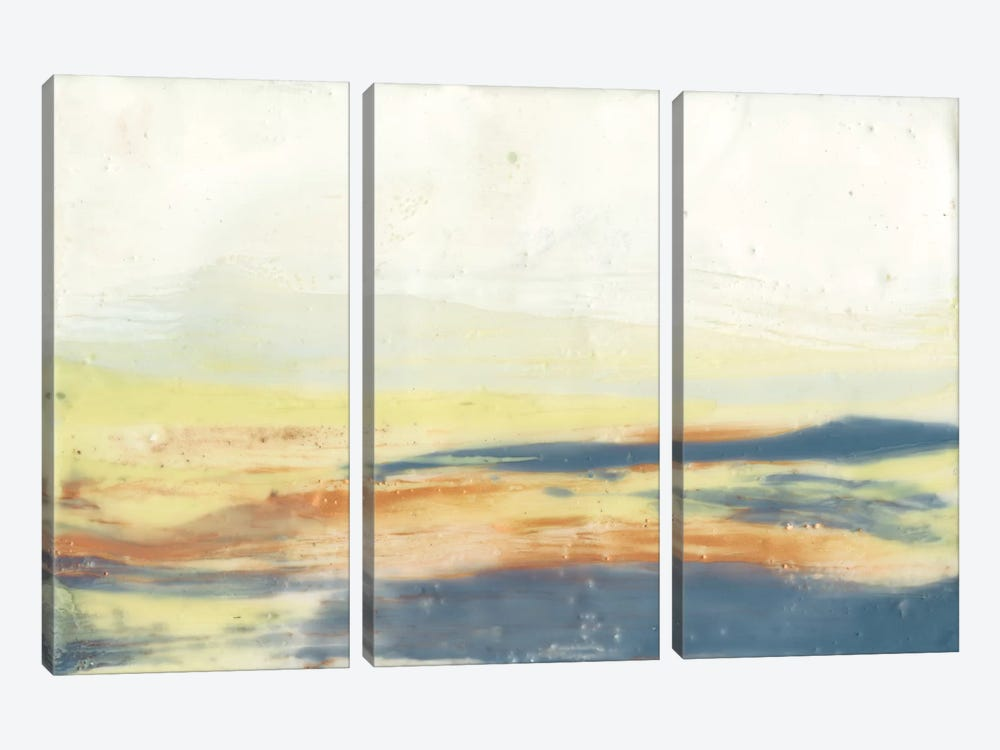 Bronze Horizon I by Jennifer Goldberger 3-piece Canvas Artwork