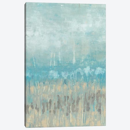 Coastline Abstraction II Canvas Print #JGO24} by Jennifer Goldberger Canvas Print
