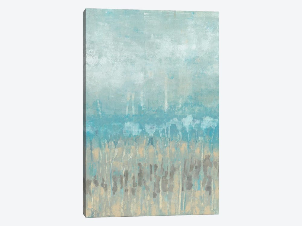 Coastline Abstraction II by Jennifer Goldberger 1-piece Canvas Art Print
