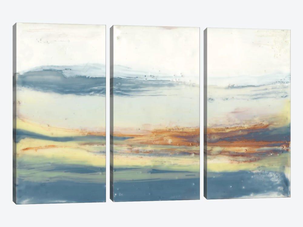 Bronze Horizon II by Jennifer Goldberger 3-piece Canvas Artwork