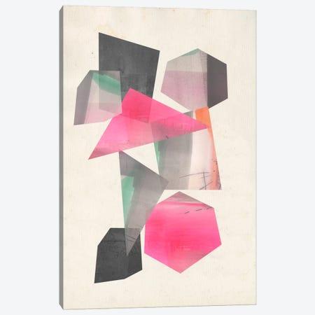 Collaged Shapes I Canvas Print #JGO251} by Jennifer Goldberger Canvas Wall Art