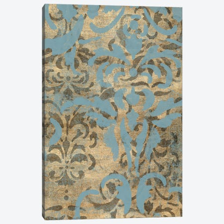 Damask Over Gold II Canvas Print #JGO256} by Jennifer Goldberger Canvas Art Print