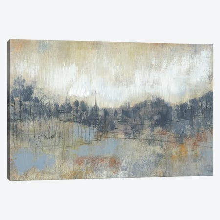 Cool Grey Horizon I Canvas Print #JGO25} by Jennifer Goldberger Canvas Art Print