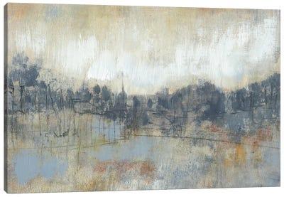 Cool Grey Horizon I Canvas Art Print