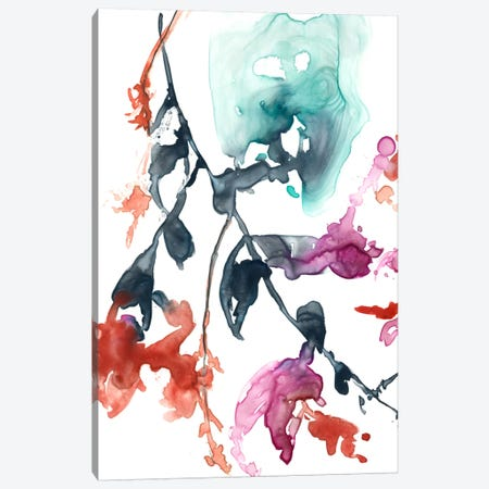 Hanging Fuchsia I Canvas Print #JGO260} by Jennifer Goldberger Art Print