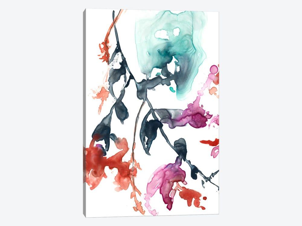 Hanging Fuchsia I by Jennifer Goldberger 1-piece Art Print