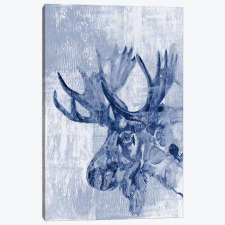 Indigo Moose Canvas Print #JGO262} by Jennifer Goldberger Canvas Print