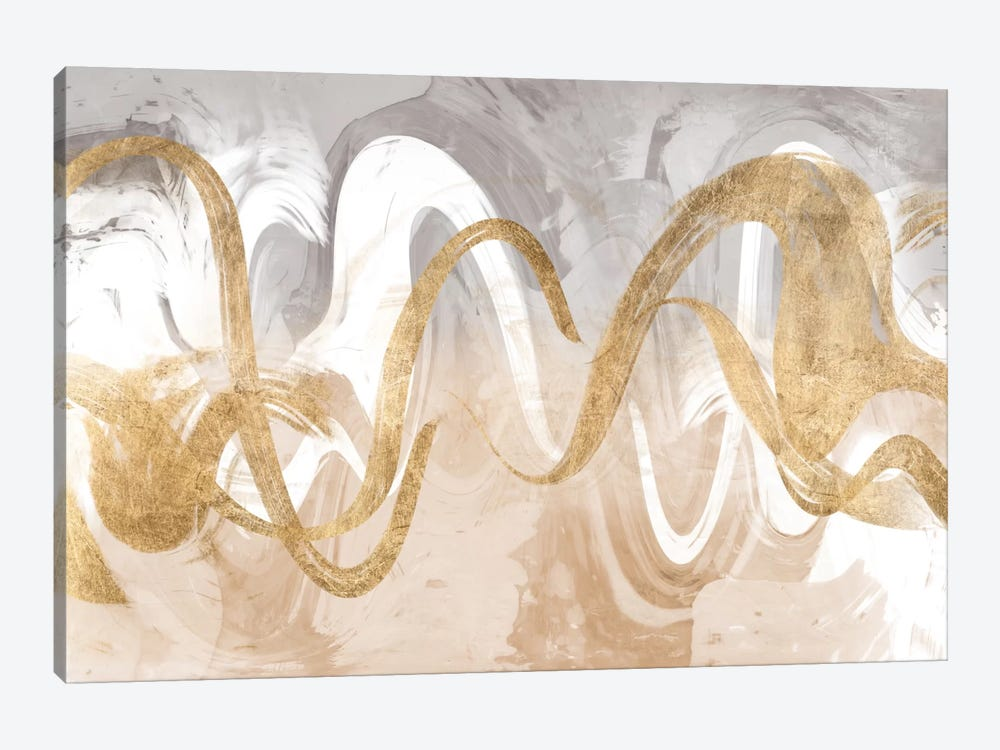 Infinite Swirl I by Jennifer Goldberger 1-piece Canvas Artwork