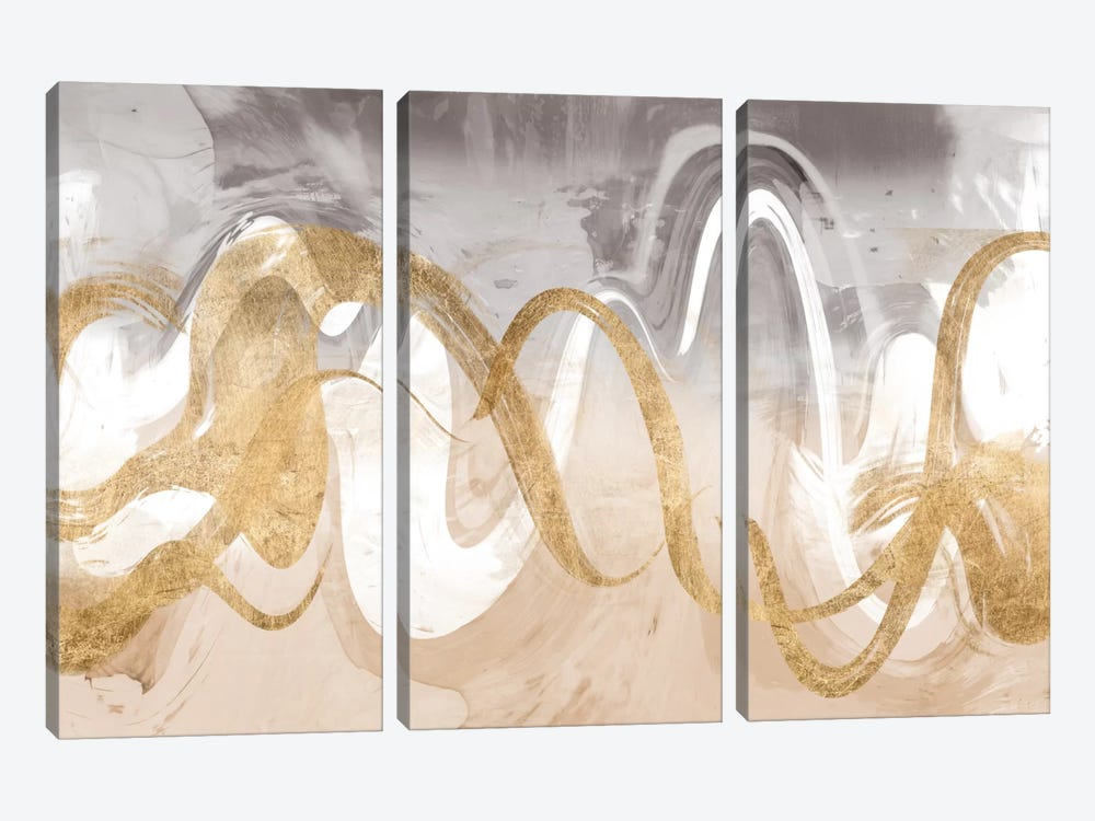 Infinite Swirl II by Jennifer Goldberger 3-piece Art Print