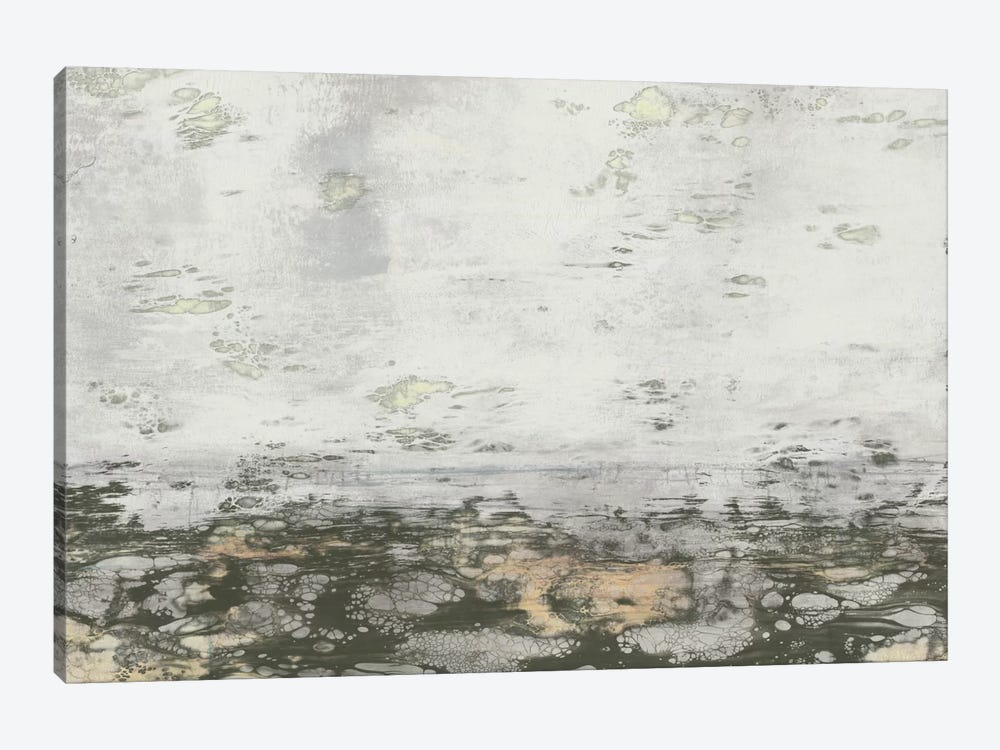 Neutral Horizon II by Jennifer Goldberger 1-piece Canvas Art Print