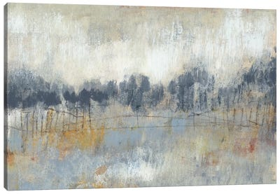 Cool Grey Horizon II Canvas Art Print