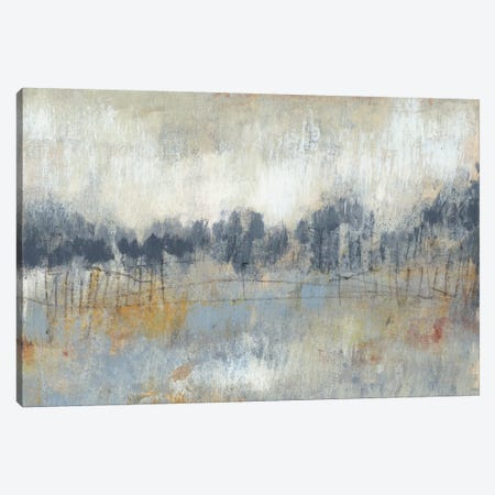 Cool Grey Horizon II 3-Piece Canvas #JGO26} by Jennifer Goldberger Canvas Print
