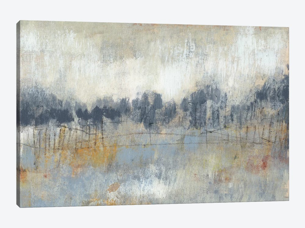 Cool Grey Horizon II by Jennifer Goldberger 1-piece Art Print