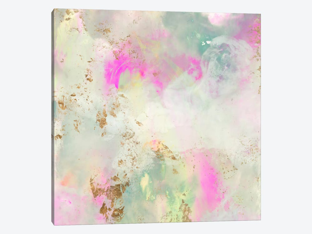 Pastel Swoop I by Jennifer Goldberger 1-piece Canvas Art