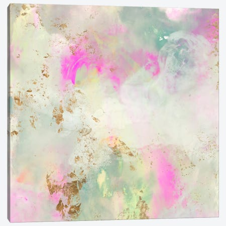 Pastel Swoop I Canvas Print #JGO270} by Jennifer Goldberger Canvas Art
