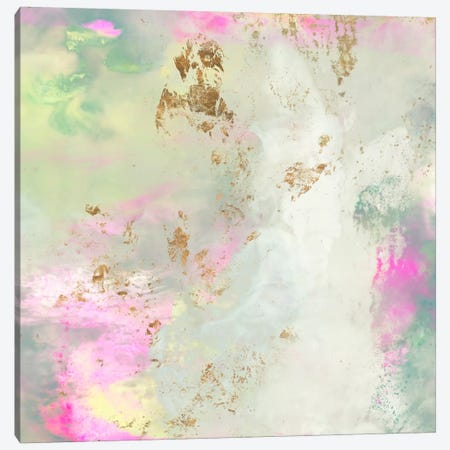 Pastel Swoop II Canvas Print #JGO271} by Jennifer Goldberger Canvas Wall Art
