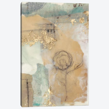 Posy Collage I 3-Piece Canvas #JGO272} by Jennifer Goldberger Canvas Artwork