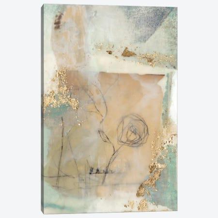 Posy Collage II Canvas Print #JGO273} by Jennifer Goldberger Canvas Art