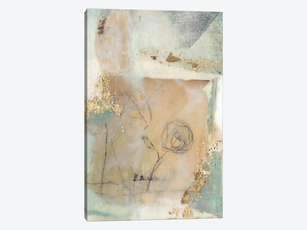 Posy Collage II by Jennifer Goldberger 1-piece Canvas Print