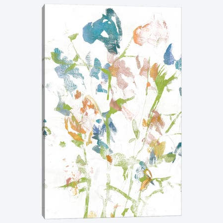 Subtle Flowers I Canvas Print #JGO274} by Jennifer Goldberger Art Print