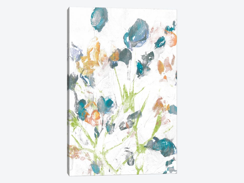 Subtle Flowers II by Jennifer Goldberger 1-piece Art Print