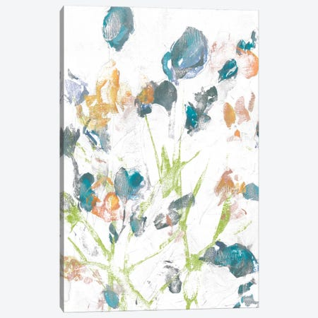 Subtle Flowers II Canvas Print #JGO275} by Jennifer Goldberger Canvas Print