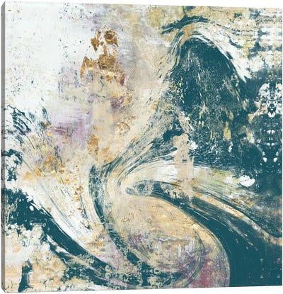Teal Aerial Canvas Art Print