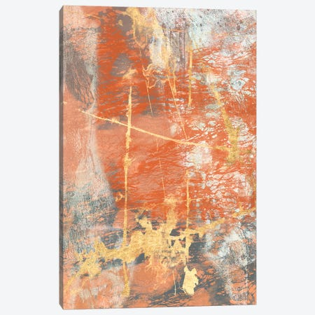 Terre Cotta Lace I Canvas Print #JGO279} by Jennifer Goldberger Canvas Art