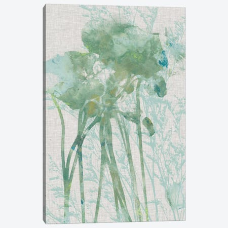 Watercolor Flower Panel I 3-Piece Canvas #JGO281} by Jennifer Goldberger Art Print
