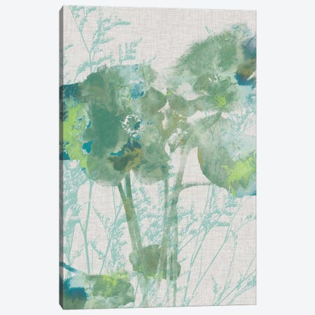 Watercolor Flower Panel II Canvas Print #JGO282} by Jennifer Goldberger Canvas Print