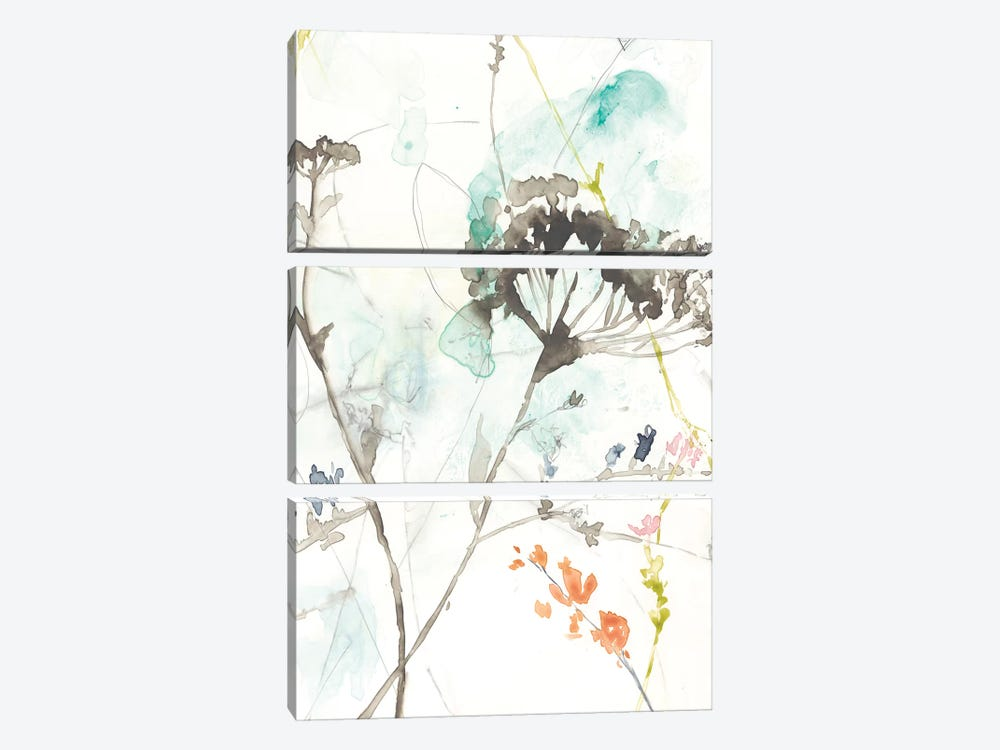 Wildflower Breath II by Jennifer Goldberger 3-piece Art Print
