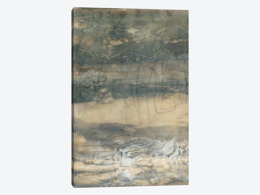Earthen Lines I by Jennifer Goldberger 1-piece Canvas Art