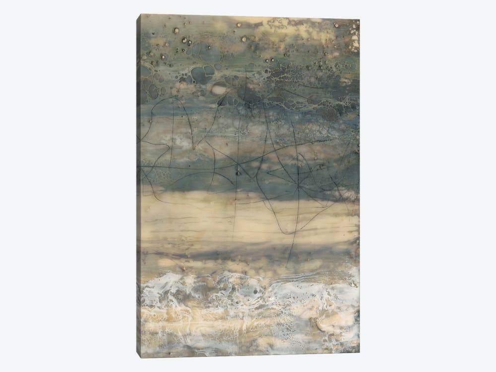 Earthen Lines II by Jennifer Goldberger 1-piece Canvas Art Print
