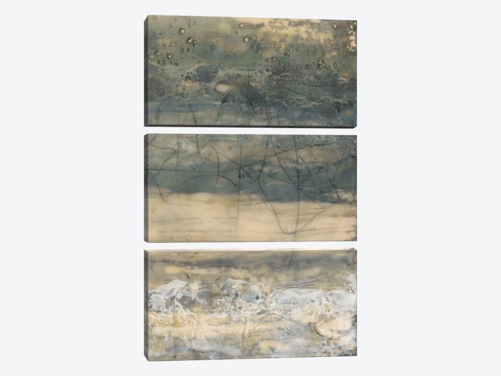 Earthen Lines II by Jennifer Goldberger 3-piece Art Print