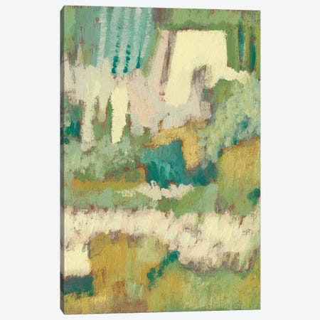 Elevated Garden I 3-Piece Canvas #JGO306} by Jennifer Goldberger Canvas Print
