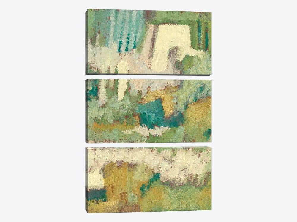 Elevated Garden I by Jennifer Goldberger 3-piece Canvas Wall Art