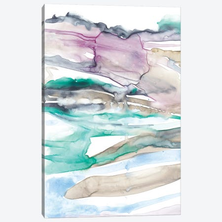 Geode Layers I Canvas Print #JGO308} by Jennifer Goldberger Canvas Artwork
